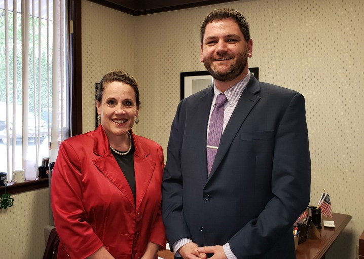 Representative Sheryl Delozier, Sean Douty