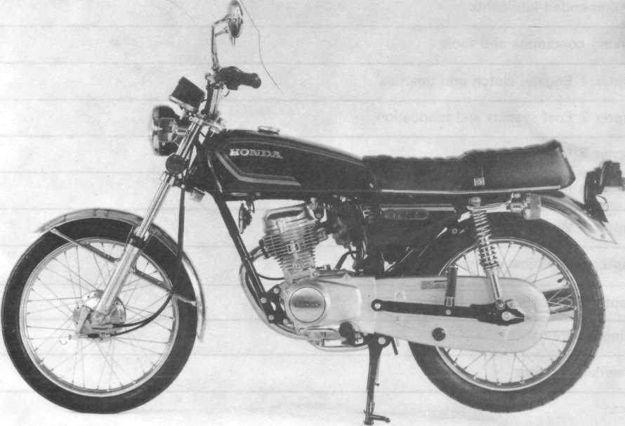 1976 Honda Z50 Wiring Diagram
