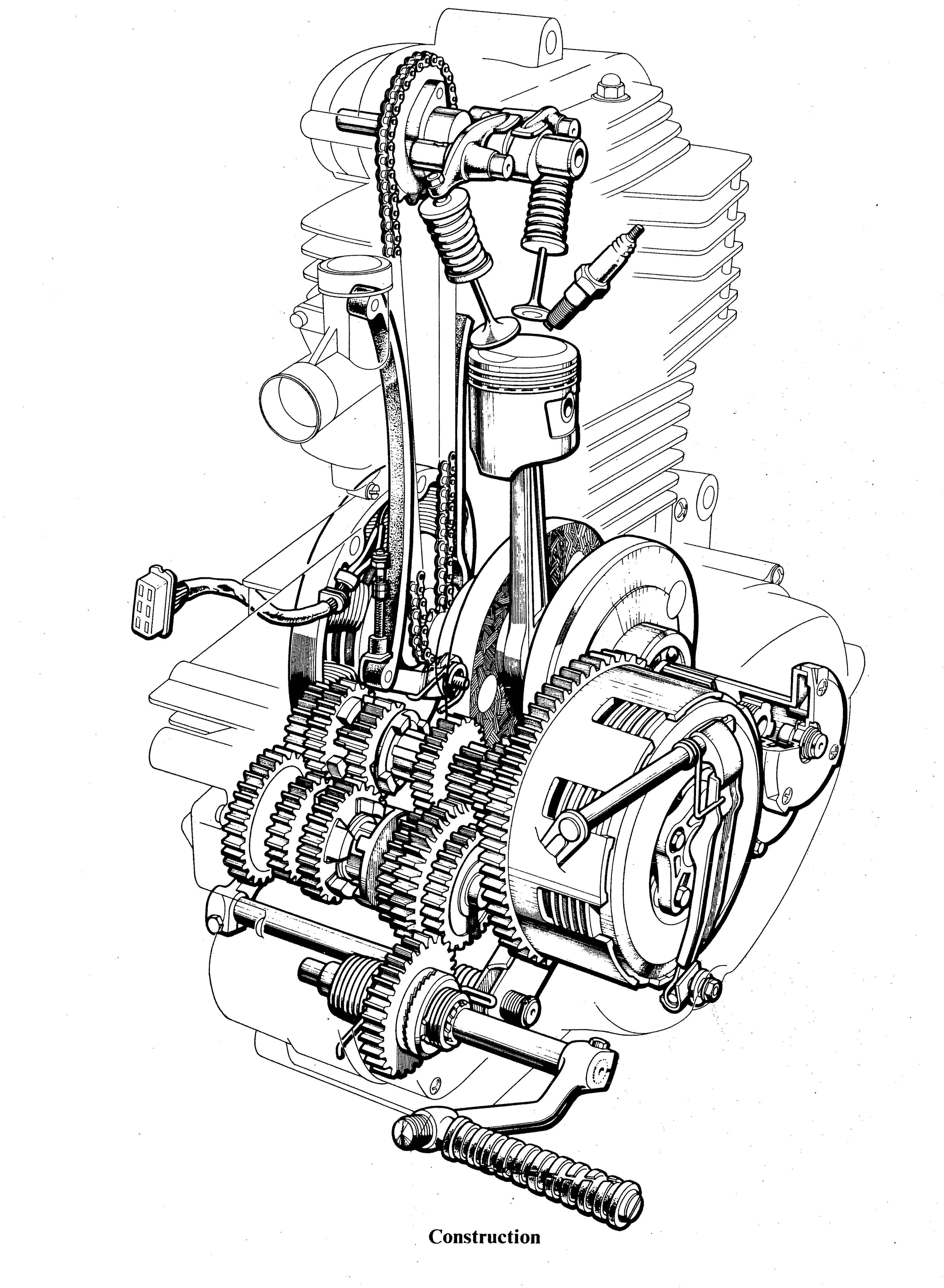honda xrm 125 cdi wiring diagram husqvarna chainsaw fuel line cb engine diagram. honda. auto
