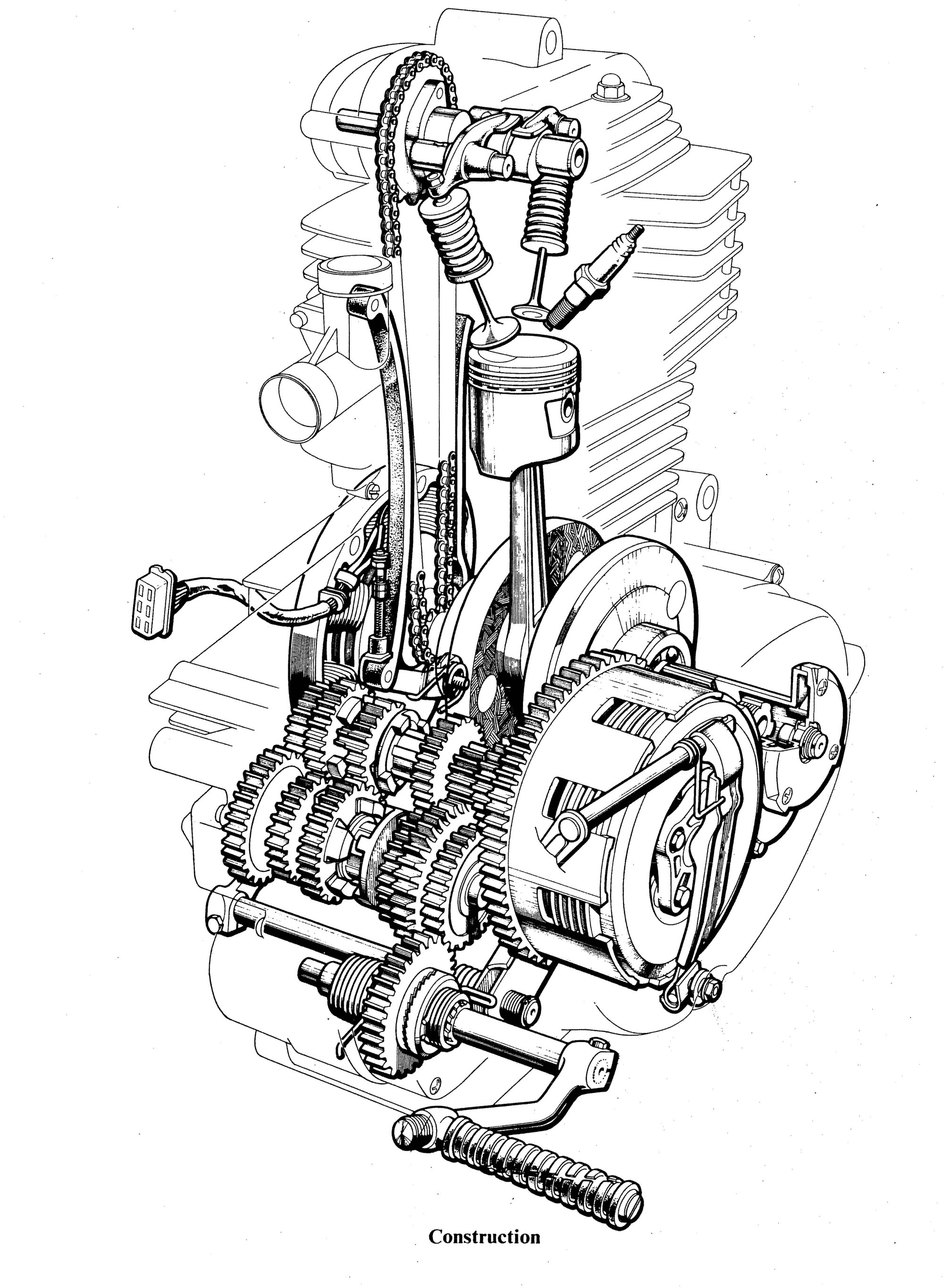 hight resolution of perbedaan honda cb dengan honda cg kataku honda xr 200 2002 honda xr200 engine diagram