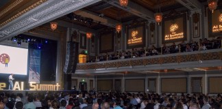 A photograph of the crowds at Stream A event at The AI Summit San Francisco