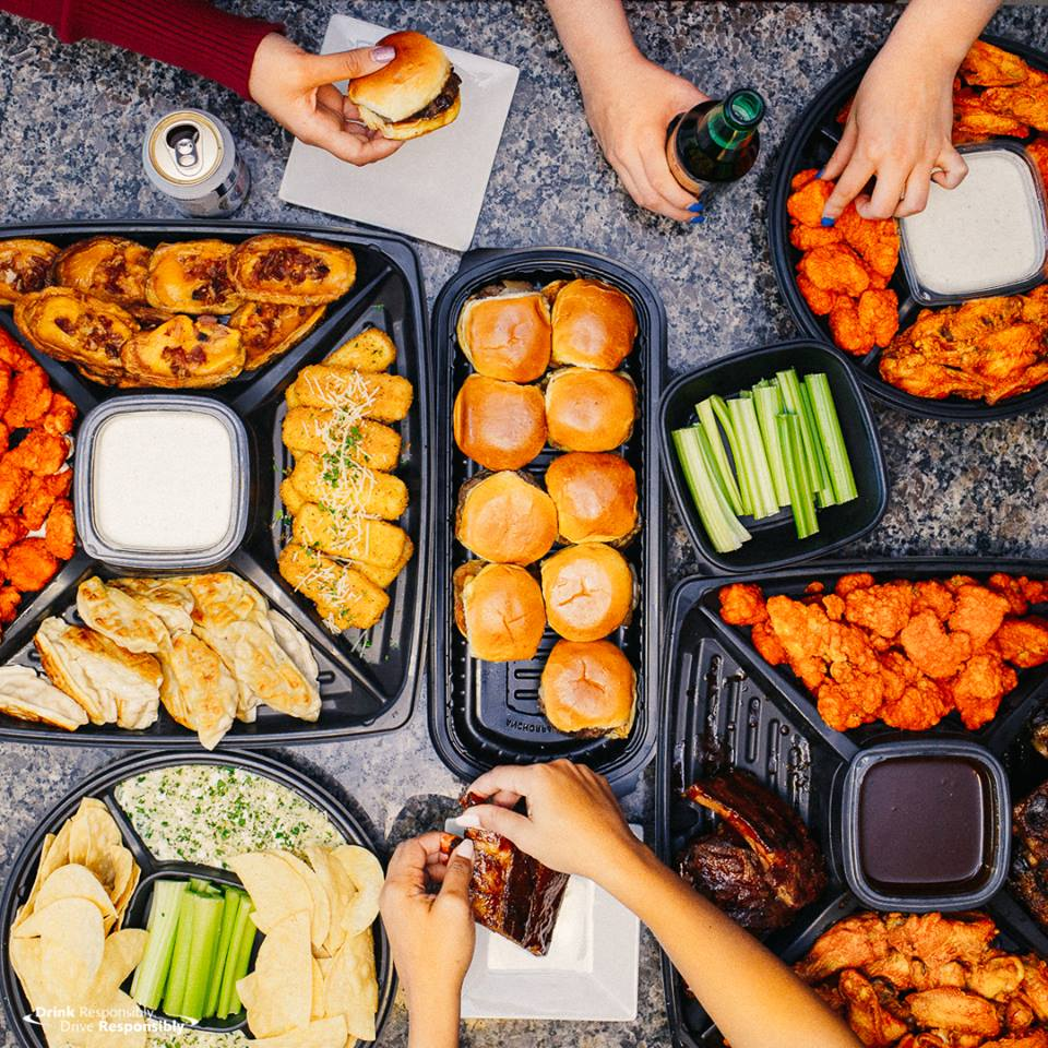 Guests can now order TGI Friday's party platters online