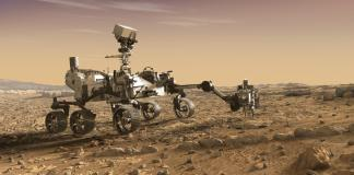 An artist's rendition of the Mars 2020 rover - NASA JPL