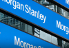 Morgan Stanley ticker board