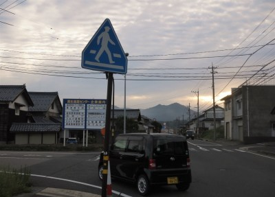 Small communities in Japan such as Ajimano rely heavily upon Kei cars, pictured