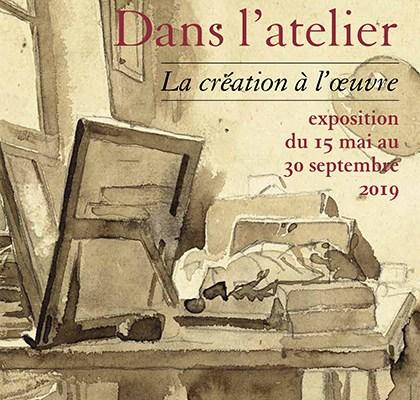 Dans l'atelier la création à l'œuvre / Musée Delacroix Paris