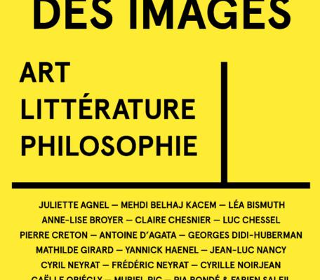 La Besogne des Images / Filigranes Editions