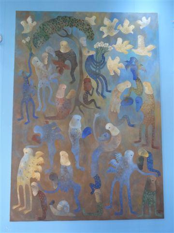 Manuel Mendive Galerie Victor Manuel