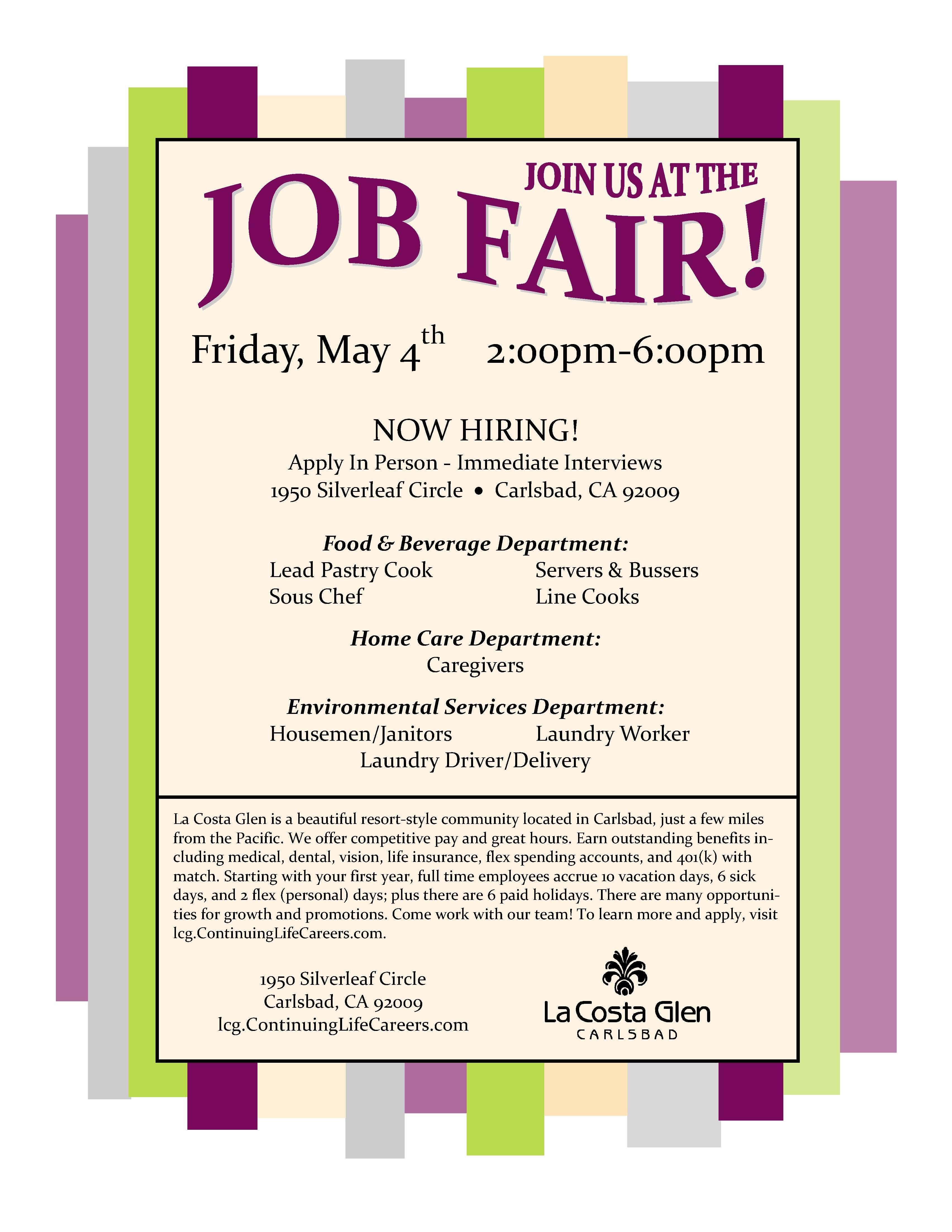 job flyer examples tk job flyer examples