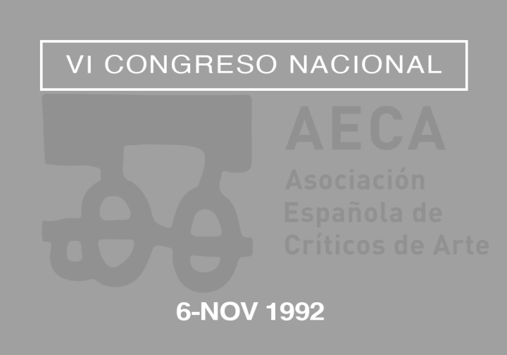 VI Congreso Nacional de la Asociación Española de Críticos de Arte