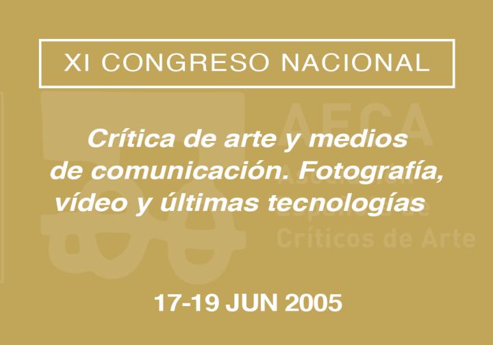 XI Congreso Nacional de la Asociación Española de Críticos de Arte