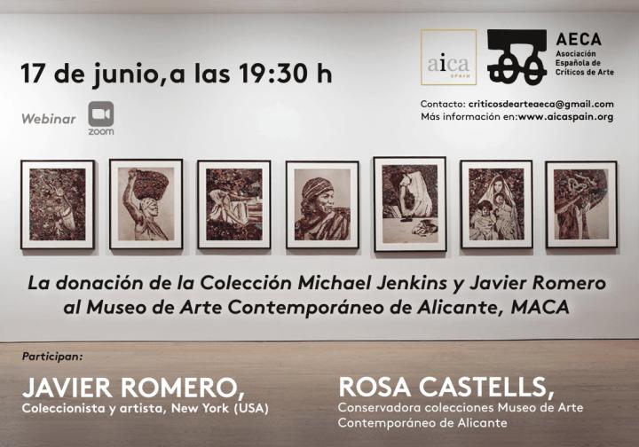 La donación de la Colección Michael Jenkins y Javier Romero al MACA