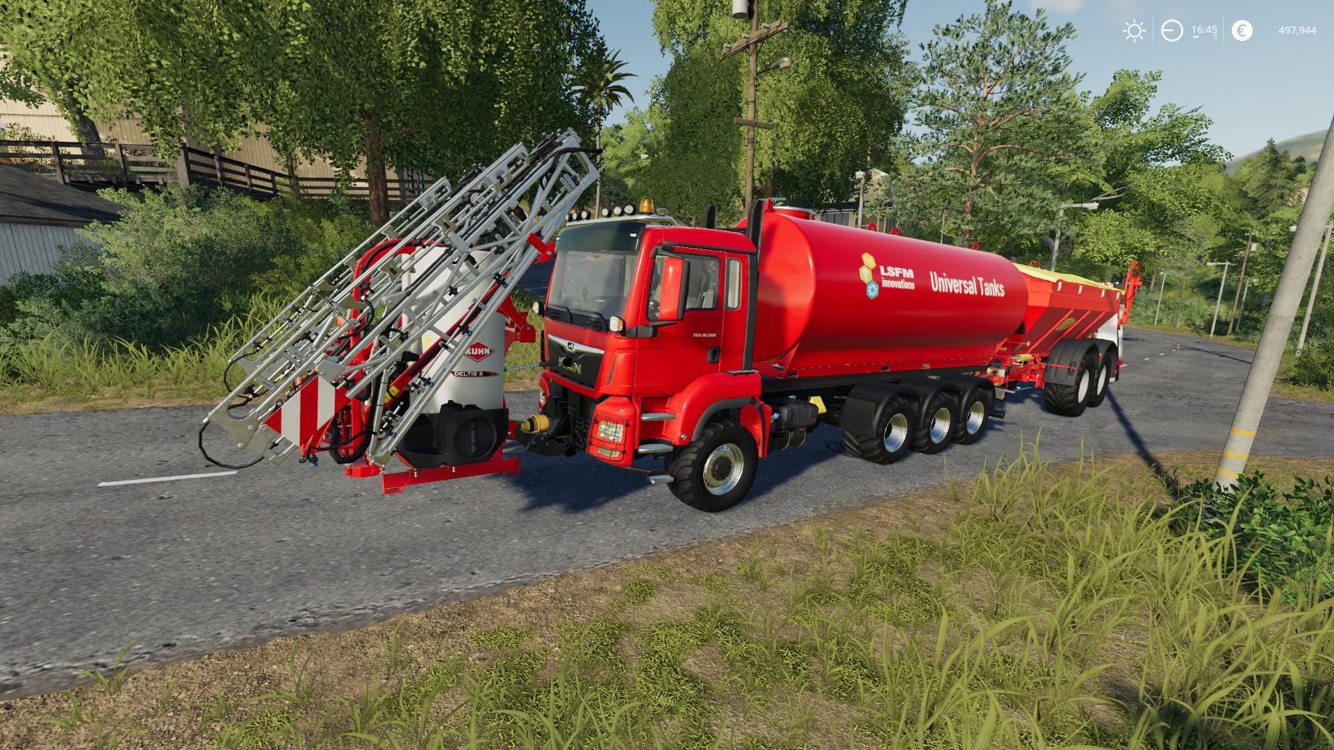MAN TGS 18 500 HOOKLIFT - Farming Simulator 19 Mods - Ai Cave