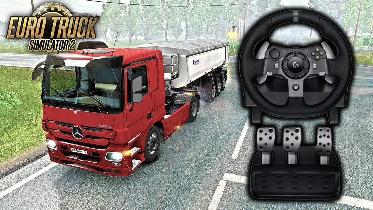 c588df6be39 Testing New Logitech G920 on Euro Truck Simulator 2 - Ai Cave
