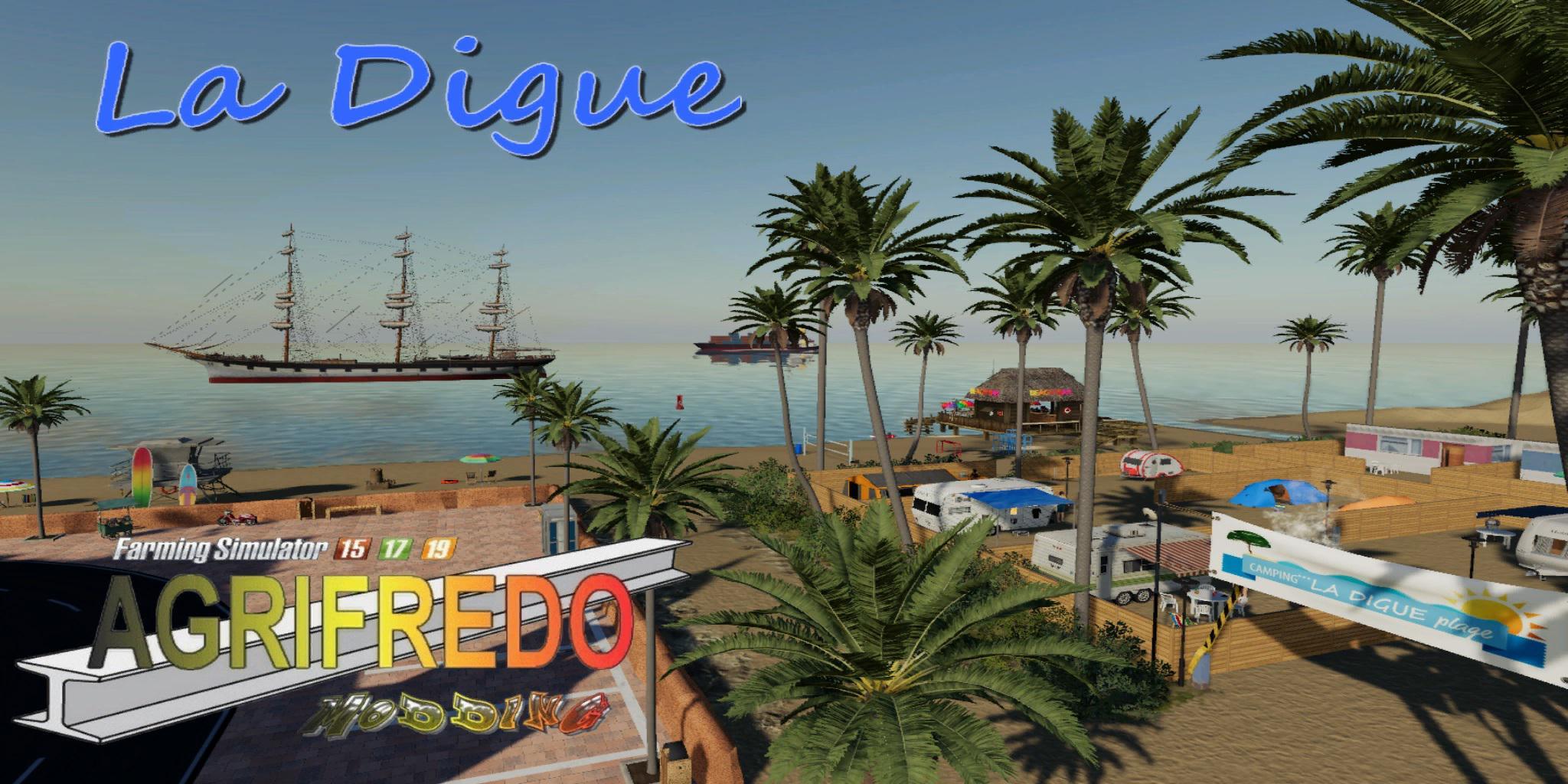 LA DIGUE TP MAP - Farming Simulator 2019 Map Mods - Ai Cave