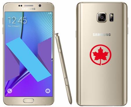 Samsung Galaxy Note 5 Canada SM-N920W8 Nougat OTA Update