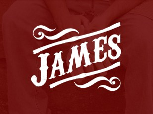 james-title-deep-red