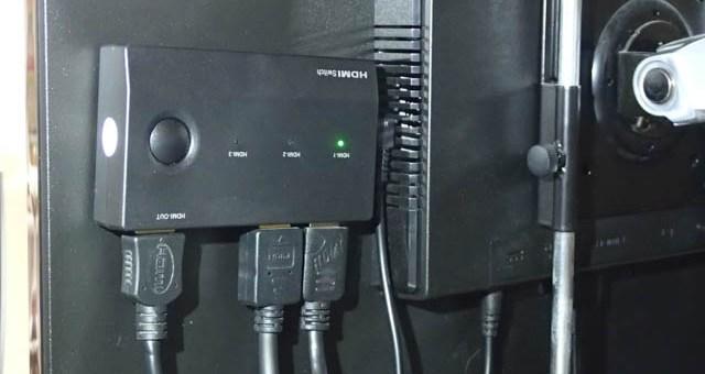 HDMIセレクター導入