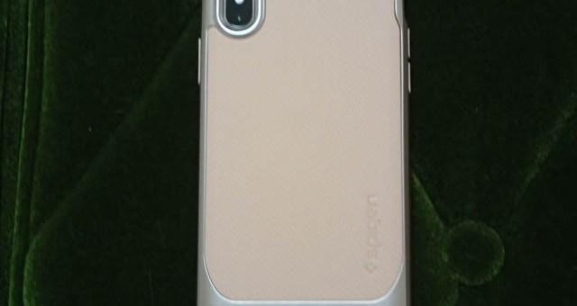 iPhone X用の米国MIL規格取得ケース