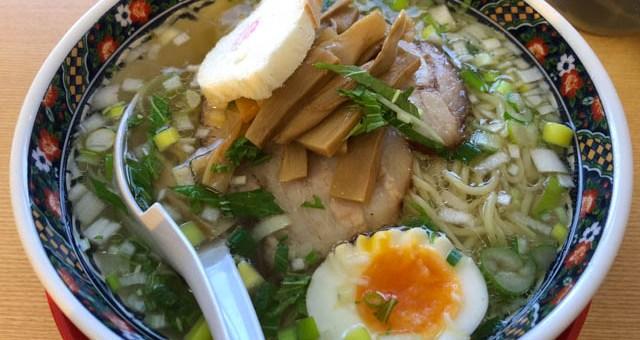 函館麺厨房あじさいの味彩塩拉麵