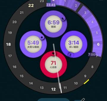 AppleWatchで睡眠状態を管理しよう
