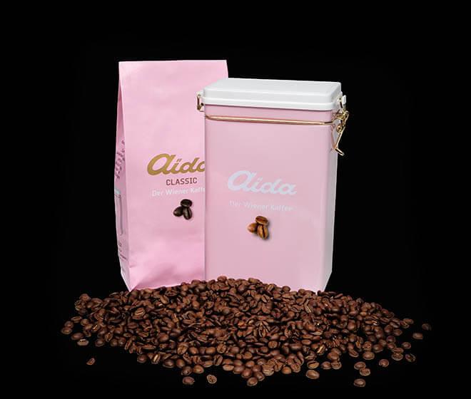 Aida Kaffee Koffeinfrei 500g  Aida