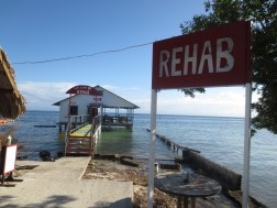 Utila - Honduras. This is a popular party spot. I juggled completing my Open Water Padi Diving Certification with getting twisted in the bars dotted along this island.