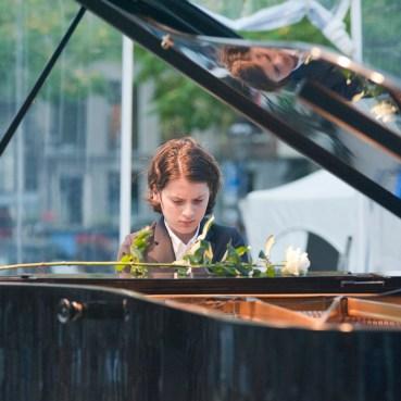 Aidan Mikdad Klassiek op het Amstelveld