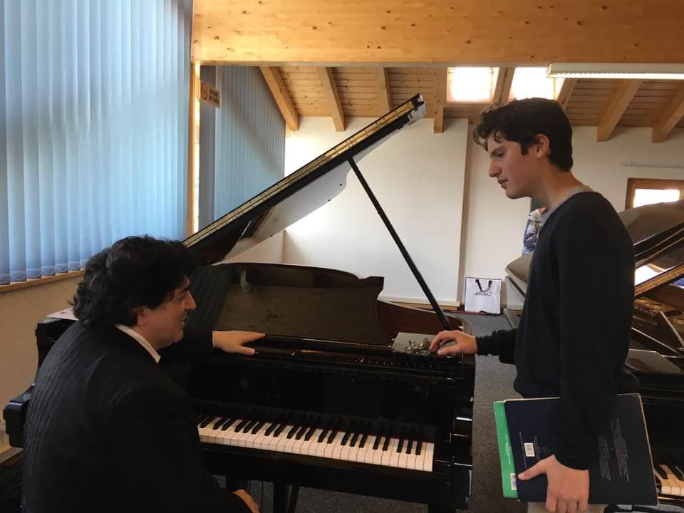 Tabor Foundation Piano Award For Aidan Mikdad