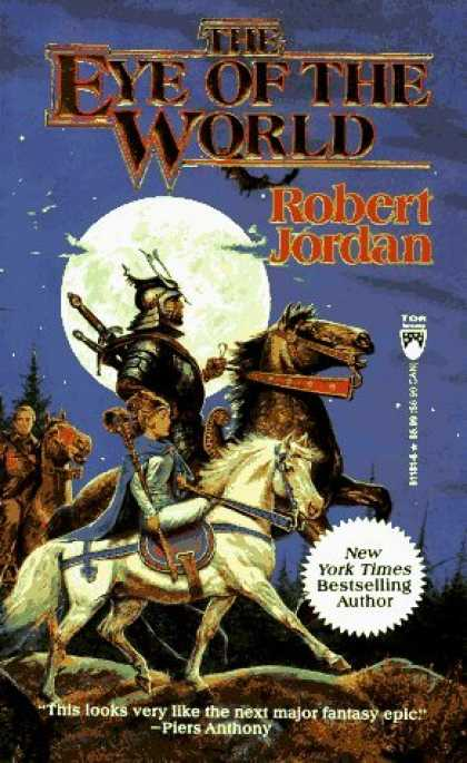 Review | THE EYE OF THE WORLD by Robert Jordan - A Dribble of Ink