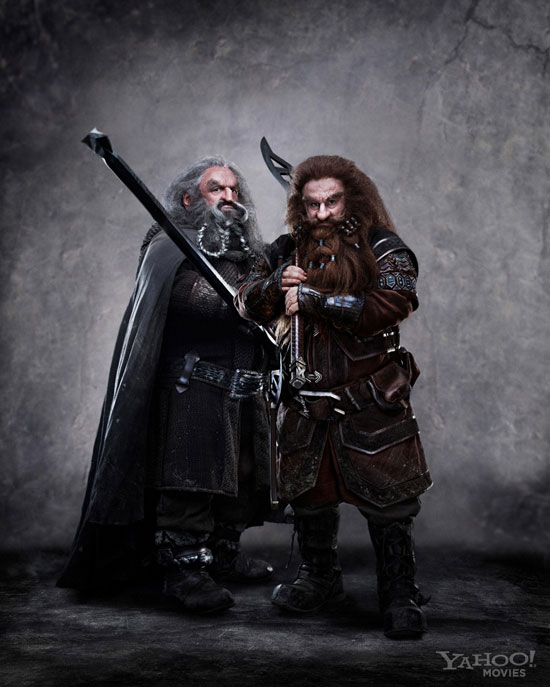 An Aside First look at the Dwarfs from THE HOBBIT A