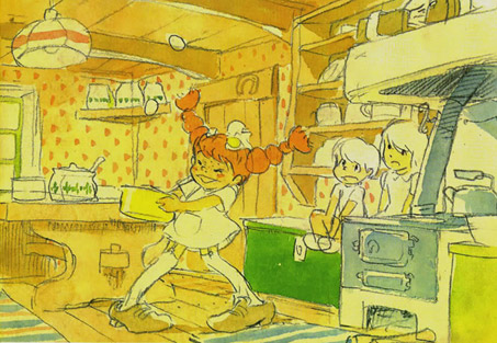 Anime Girl Looking At Sky Wallpaper What If Gorgeous Concept Art For Hayao Miyazaki S Pippi