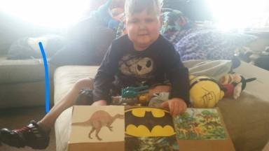 Aidan's Avengers helps local boy