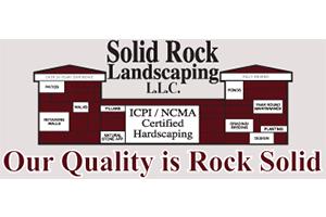 $250 Silver Sponsor Solid Rock Landscaping 2015 & 2016