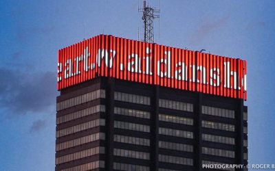 Crown Lights – Aidan's Heart Foundation Shines Brightly atop PECO Building
