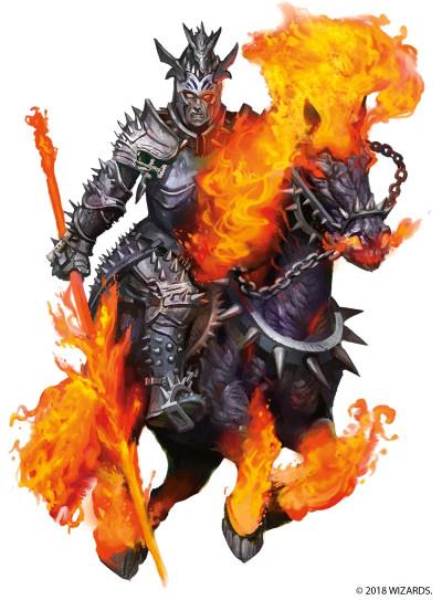 Dnd 5e Nightmare : nightmare, Narzugon, Monster, Dungeons, Dragons