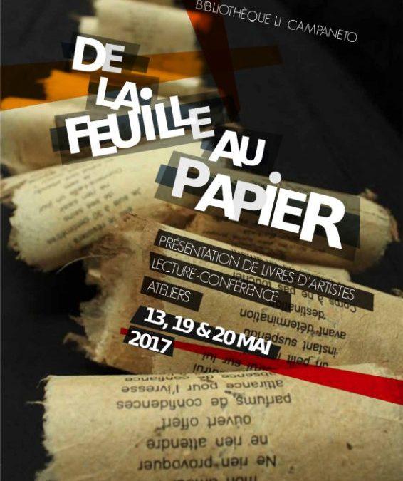 De la feuille au papier