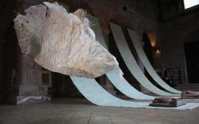 Exposition et performances à l'abbaye d'Alspach