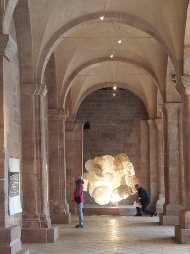 Traverser la surface Abbaye d'Alspach