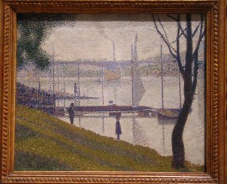 The bridge at Courbevoie, Georges Seurat, ca. 1886, oil on canvas