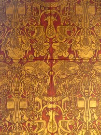 Leather panelling by Heinrich Vogeler, 1905