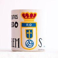 Taza personaliza Real Oviedo