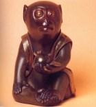 Japão - Macaco Okimono - Periodo Edo séc XIX