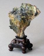 S01 Laoshan green stone 24x16x10cm