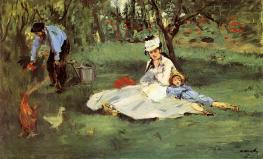 Édouard_Manet_--The_Monet_Family_in_Their_Garden_at_Argenteuil