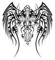 tribal_wings_cross_design_by_twz-1