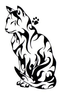 Cat_Tattoo_by_isisfiredancer
