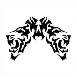 itattooz-tribal-tiger-face-tattoo-pic