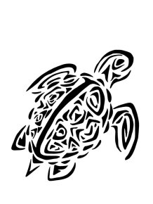 sea_turtle_tribal_tattoo_by_wolfs_hybrid-d6gnct9