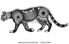 stock-vector-vector-illustration-of-wild-totem-animal-mountain-lion-puma-104114384